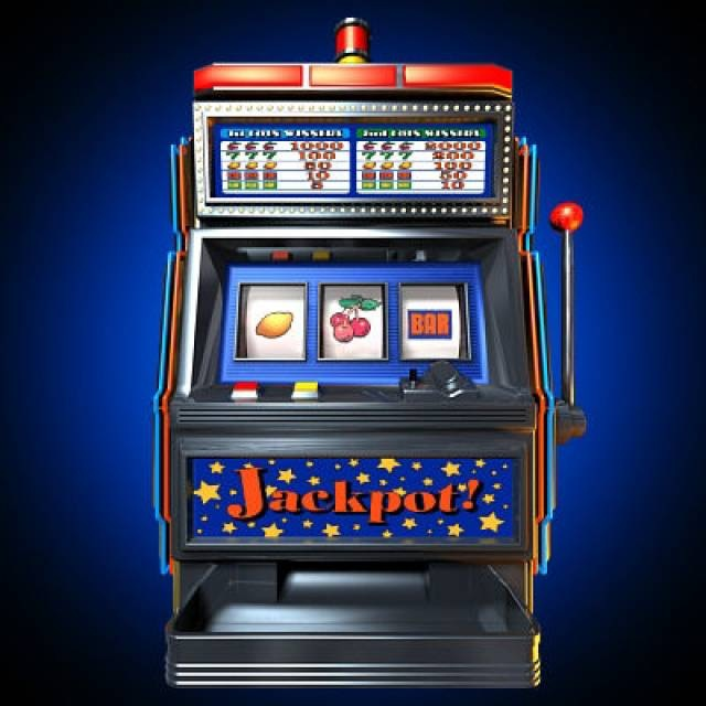 Slot machine front